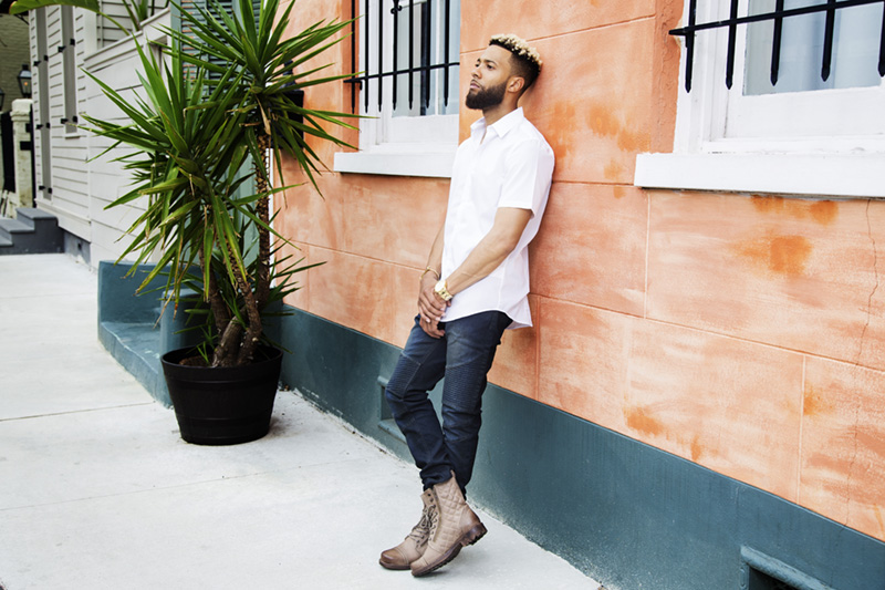 Britt Smith Photography photoshoot with New Orleans fashion blogger, Style at Will, Willie Franklin III