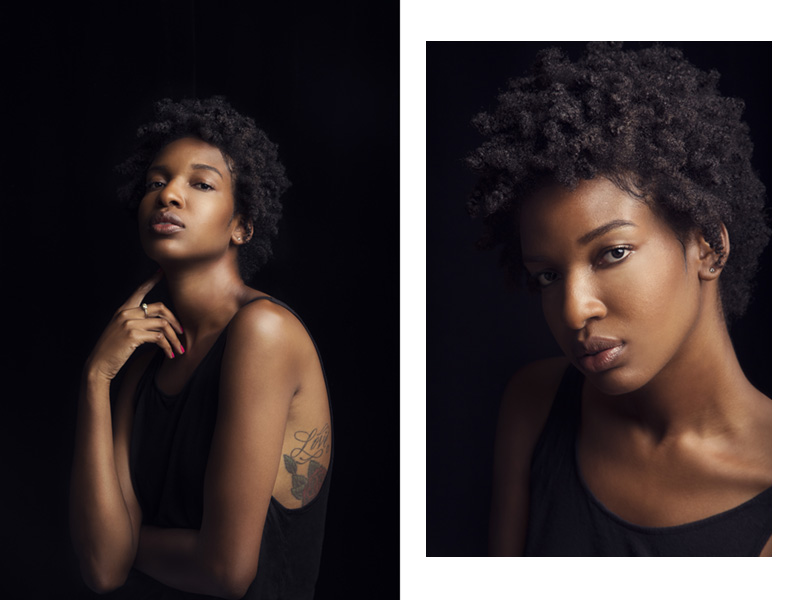 Britt Smith Photography, New Orleans photographer, model and singer Erika Flowers headshot model portfolio